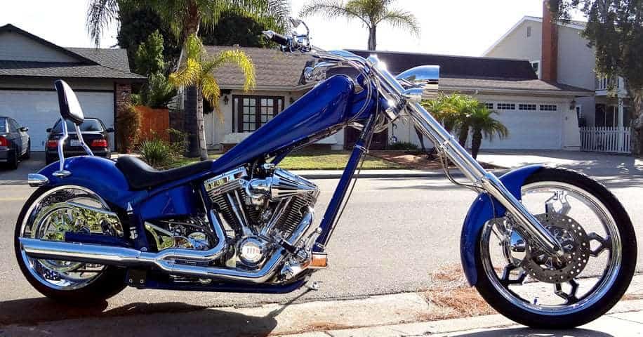 San Diego custom motorcycle
