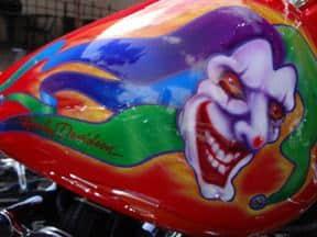 San Diego custom Harley