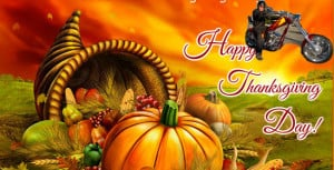 Happy Motorcycle Thanksgiving - Motorcycle Rider Thanksgiving