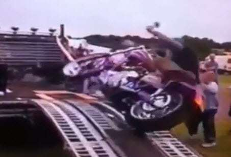 motorcycle fall