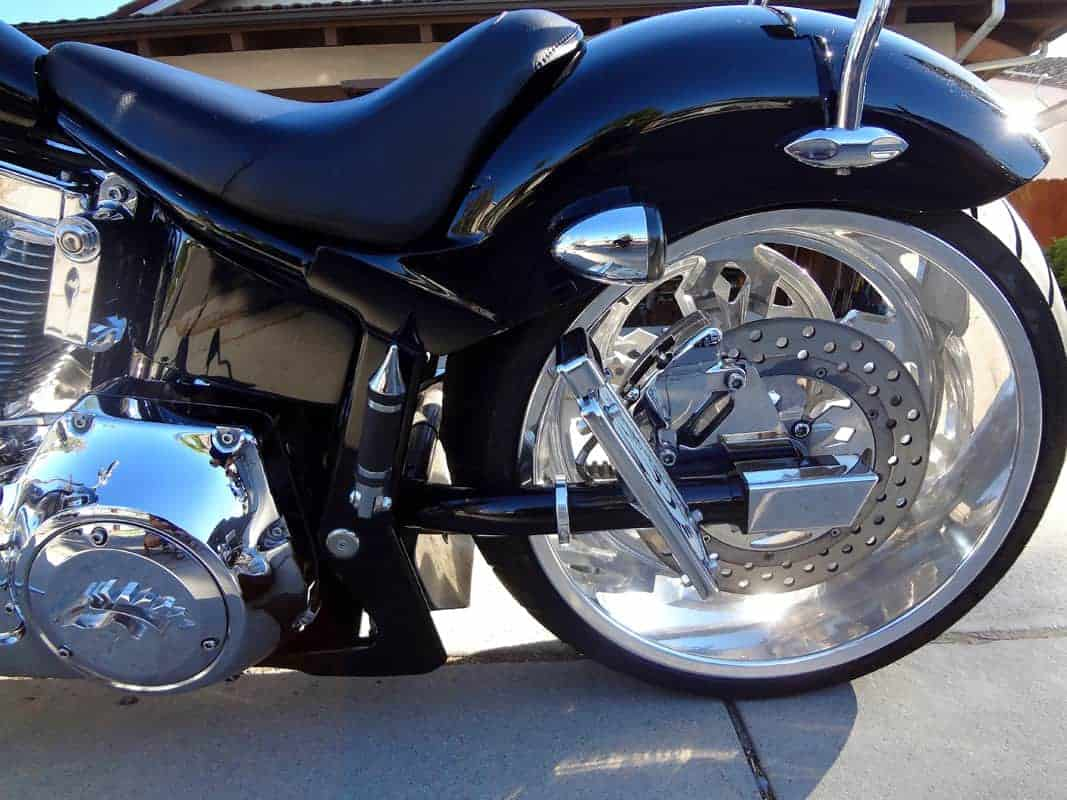 2005 SANTEE RIGID WITH A SPRINGER CHOPPER FOR SALE ...