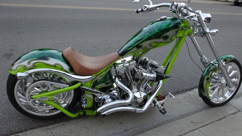 Big Dog K9 motorcycle  Custom Chopper Motorcycle