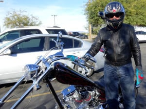 2007 American Ironhorse Texas Chopper  Arizona Motorcycle Ride