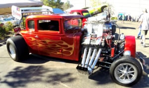 San Diego hot rods