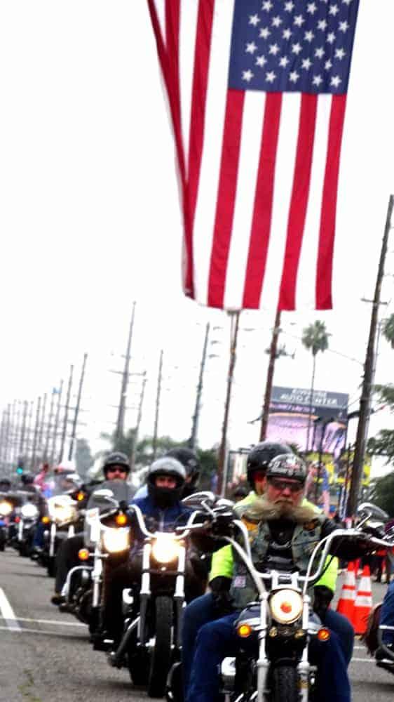 West Coast Thunder motorcycle ride