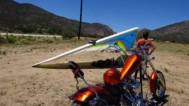 San Diego California motorcycle ride - hang gliding - San ...