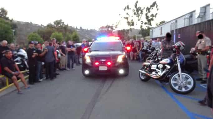 San Diego motorcycle traffic ticket