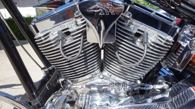 S&S motorcycle engine