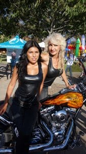 motorcycle gals