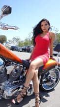 motorcycle gal