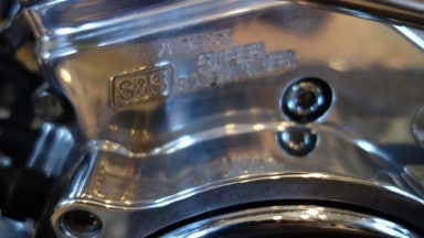 S&S motorcycle motor