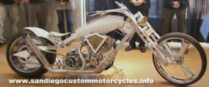 American Chopper 9-11 motorcycle