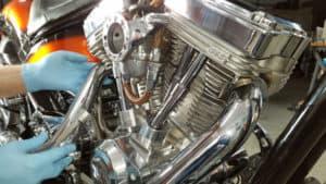 S&S motorcycle engine - American Ironhorse Texas Chopper - Motorcycle repair San Diego