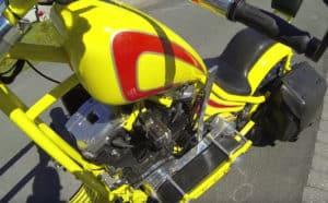 Norway chopper motorcycle